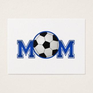 Soccer Mom Blue Business Card