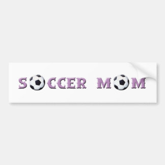 Soccer Mom bumper sticker