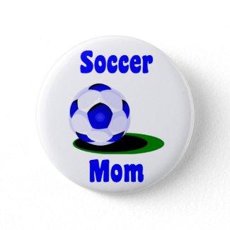 Soccer Mom Button button