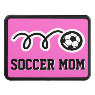 Soccer mom car hitch cover | Funny sport gift idea