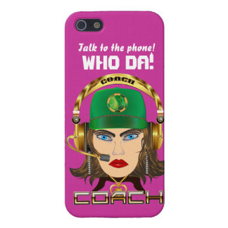 Soccer Mom Coach All Styles View Hints iPhone 5/5S Covers