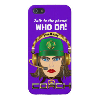 Soccer Mom Coach All Styles View Hints iPhone 5 Cover