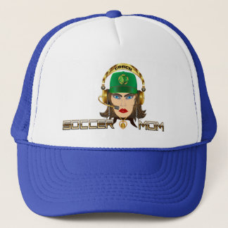 Soccer Mom Coach View Hints Trucker Hat