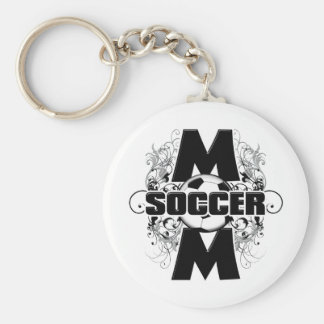 Soccer Mom (cross).png Keychain