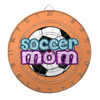 Soccer Mom Dart Board