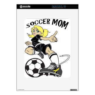 SOCCER MOM DECAL FOR THE iPad
