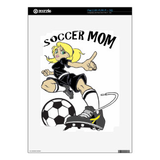 SOCCER MOM DECAL FOR THE iPad 2