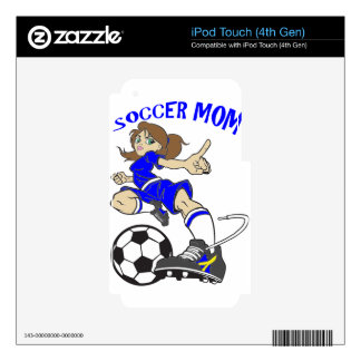 SOCCER MOM DECALS FOR iPod TOUCH 4G