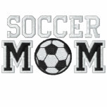 Soccer Mom Embroidered Hoodie