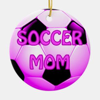 Soccer Mom Football Ornamet Christmas Ornaments