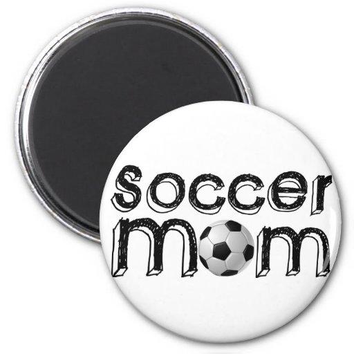 Soccer Mom Fridge Magnets