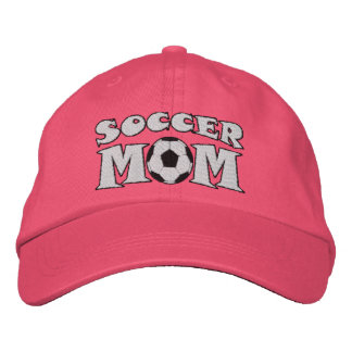 Soccer Mom Game Day Embroidered Cap Hat