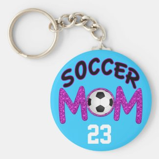 Soccer Mom Gifts, Personalized Soccer Keychains
