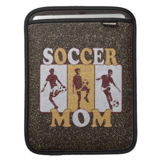 Soccer Mom Glitter Effect iPad Sleeve