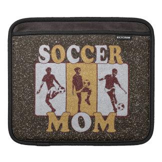 Soccer Mom Glitter Effect Sleeve For iPads