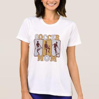Soccer Mom Glitter Effect Tee Shirt