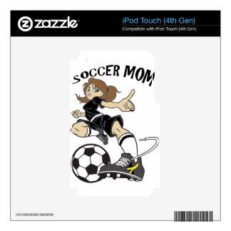 SOCCER MOM iPod TOUCH 4G SKIN