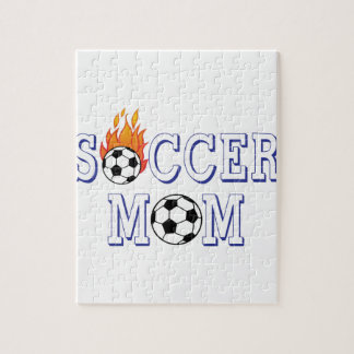 Soccer Mom Jigsaw Puzzle