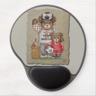 Soccer Mom & Kid Bears Gel Mouse Mat