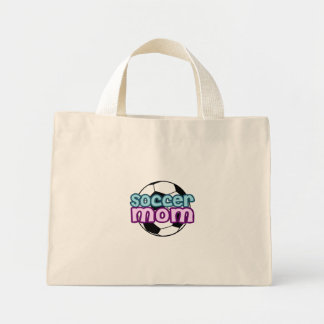 Soccer Mom Mini Tote Bag