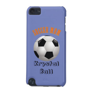 Soccer Mom Name Monogram iPod Touch 5G Cover