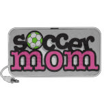 soccer mom pink iPhone speakers