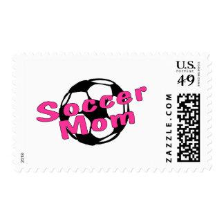 Soccer Mom Pink Stamp