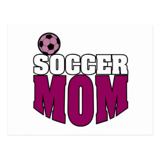 Soccer Mom Postcards