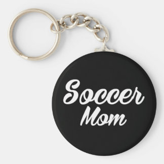 Soccer Mom Print Keychain