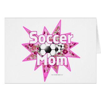 Soccer Mom Roses Card