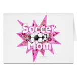 Soccer Mom Roses Cards