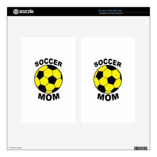 Soccer Mom Kindle Fire Skin
