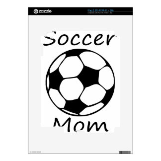 soccer mom skin for the iPad 2