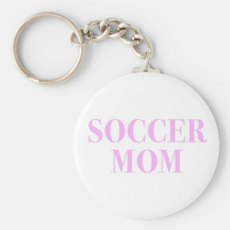 Soccer Mom Slogan Keychain
