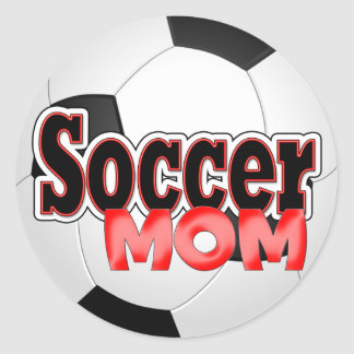 Soccer Mom Stickers