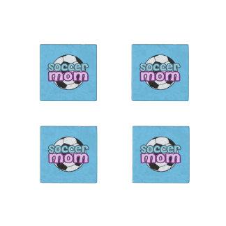 Soccer Mom Stone Magnet