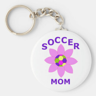 Soccer Mom T-Shirts and Gift Products Keychain
