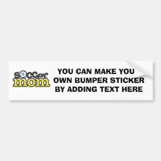 Soccer Mom T-shirts and Gifts Bumper Sticker