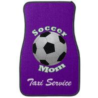 Soccer Mom Taxi Service Floor Mat