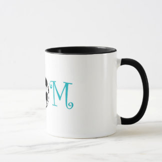 Soccer Mom, Teal Blue Mug