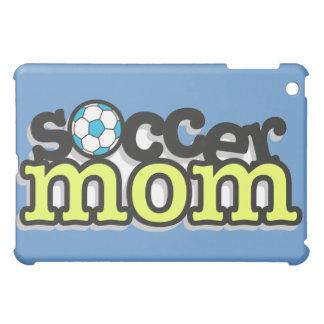 soccer mom text design 2 iPad mini covers