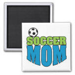 soccer mom text graphic fridge magnets