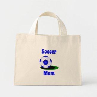 Soccer Mom Tote Bag bag