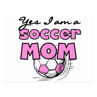 Soccer Mom  Tshirts and Gifts Postcard