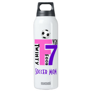 Soccer Mom-Twinty Foor 7ven Insulated Water Bottle