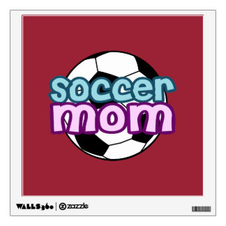 Soccer Mom Wall Decal