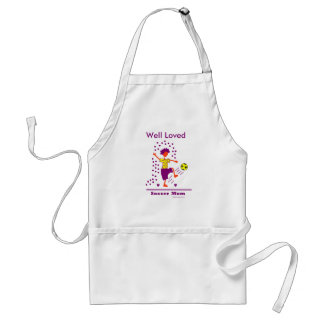 Soccer Mom - Well Loved! Adult Apron