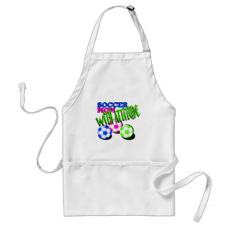 Soccer Mom with Attitude Adult Apron