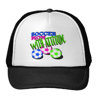 Soccer Mom with Attitude Trucker Hat