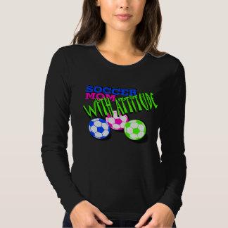 Soccer Mom with Attitude Tee Shirts